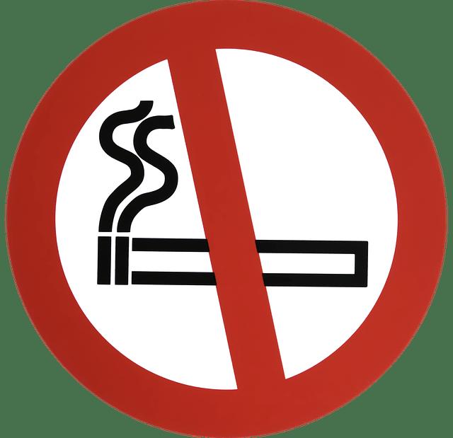Verbot - Rauchen aufhören